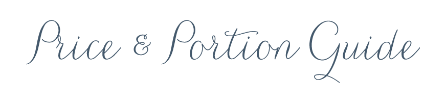 Price&PortionGuide